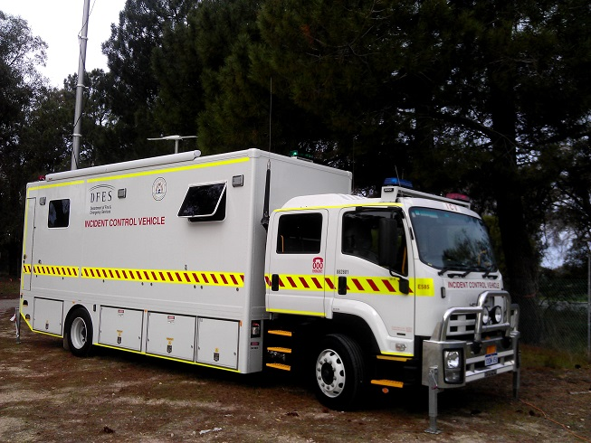 Incident Control Vehicle